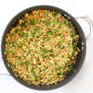 Quinoa & Cauliflower Fried Rice
