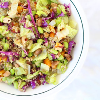 Asian Inspired Edamame and Quinoa Salad