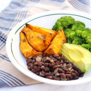Sweet Potato and Black Bean Bowl