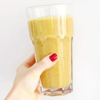 Golden Turmeric Milkshake
