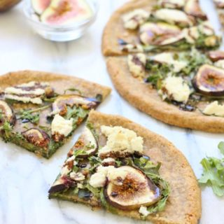 Fig & Almond Milk Ricotta Pizza (paleo)
