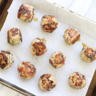 Grain Free Turkey Meatballs (paleo)