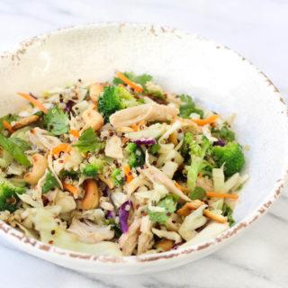 Vietnamese Chicken Quinoa Salad
