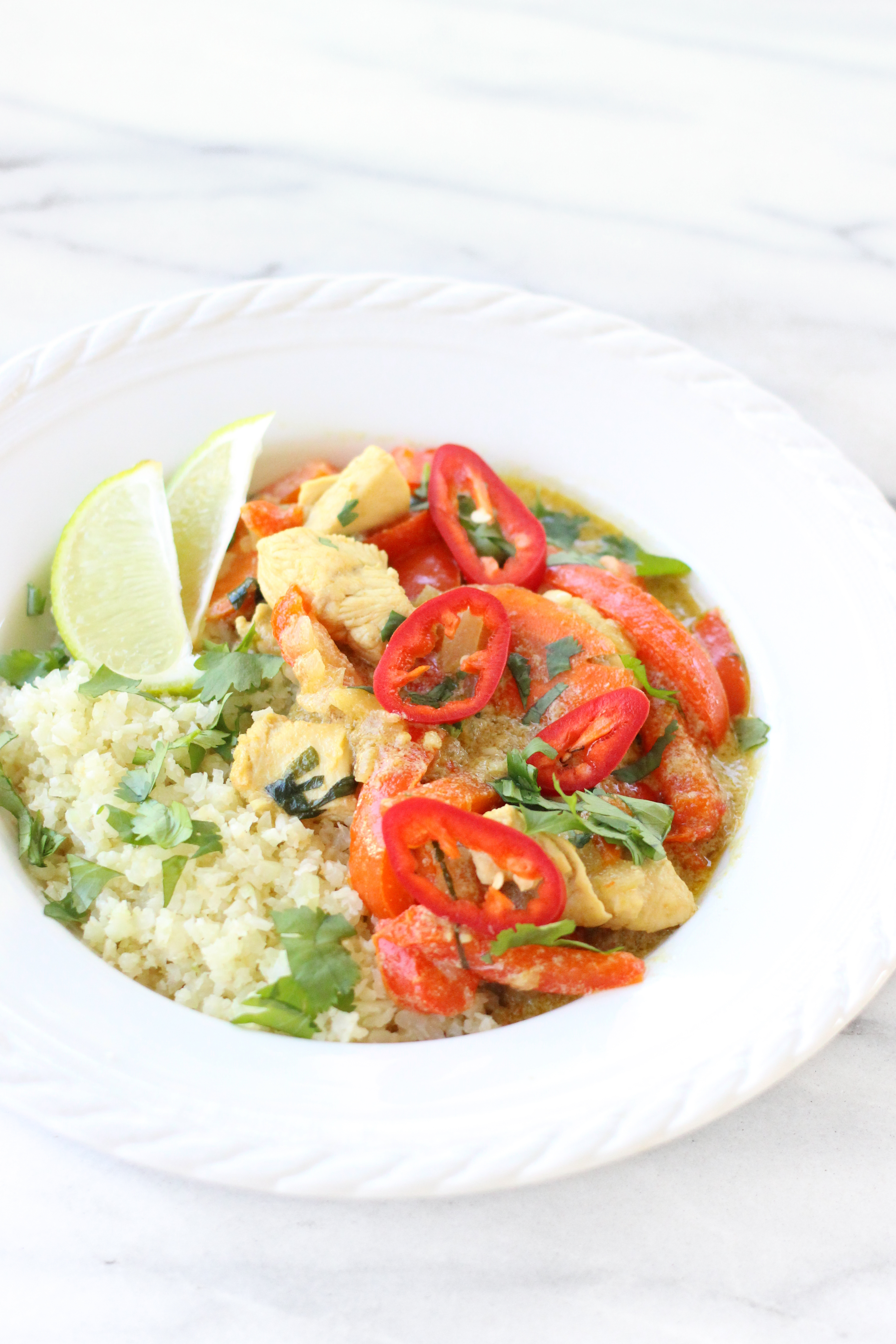 Thai green chicken curry carolines kitchen as the weather gets colder i begin to crave lots of hearty meals that warm you up from the inside out and nothing does that better than this curry forumfinder Images
