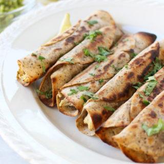 Salsa Verde Chicken Taquitos (paleo)