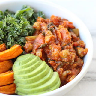 Indian Chickpea & Vegetable Stew